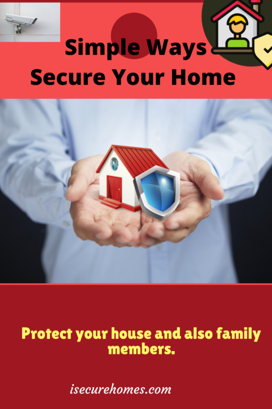 home security tips, protect your house from break-ins, secure your home